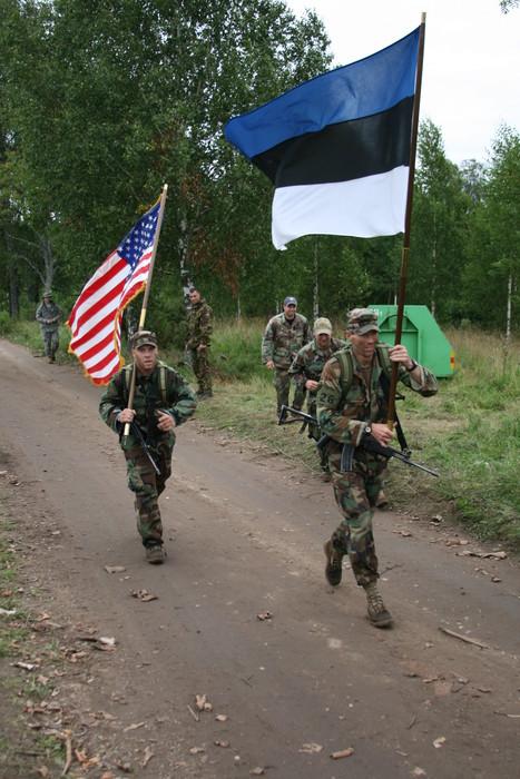 Battle of the flag bearers