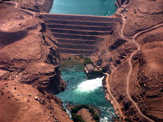 Kajakai Dam Helmand Province