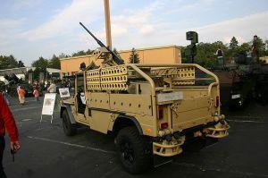 German KSK special forces G-Wagon variant