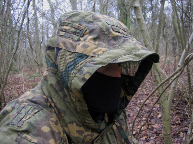 Les tenues de camouflage (motifs, trames ....) Hood-sm