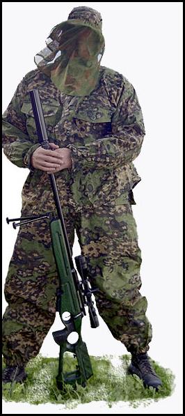 Les tenues de camouflage (motifs, trames ....) Partizan-1