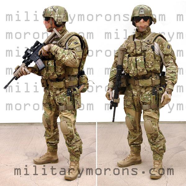 Full Military Uniform 106