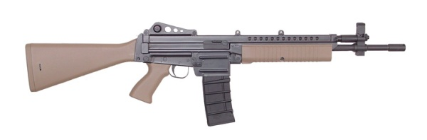also available with folding FN-FAL type tubular stock