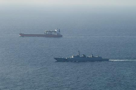 Chinese Frigate on patrol