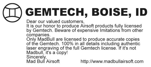 gemtech-license
