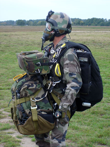 HAHO/HALO rig - French special forces example