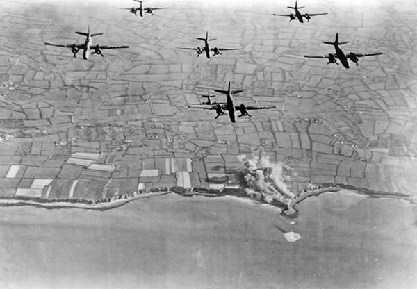 PDH bombing raid photo
