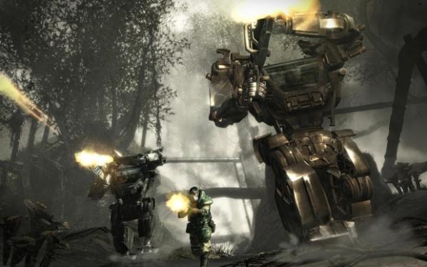 Soldier wearing AVPAT jungle camo.  Image copyright, Ubisoft 2009.