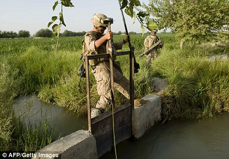 US Marines in Helmand