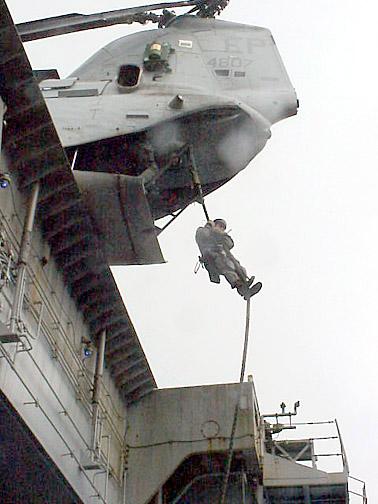USMC fast rope