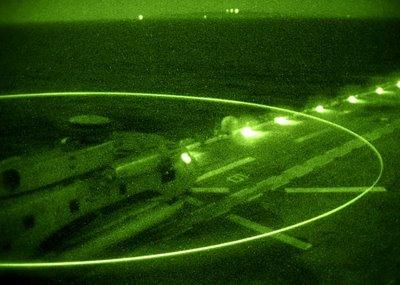 USMC_MH-53_Sea_Dragon_Night_TO_USS_Boxer_LHD-4