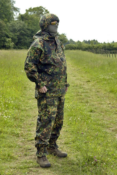 Wal BDU and Helmet Cover