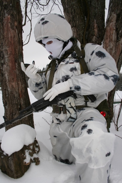 Snow Camouflage Modox-8