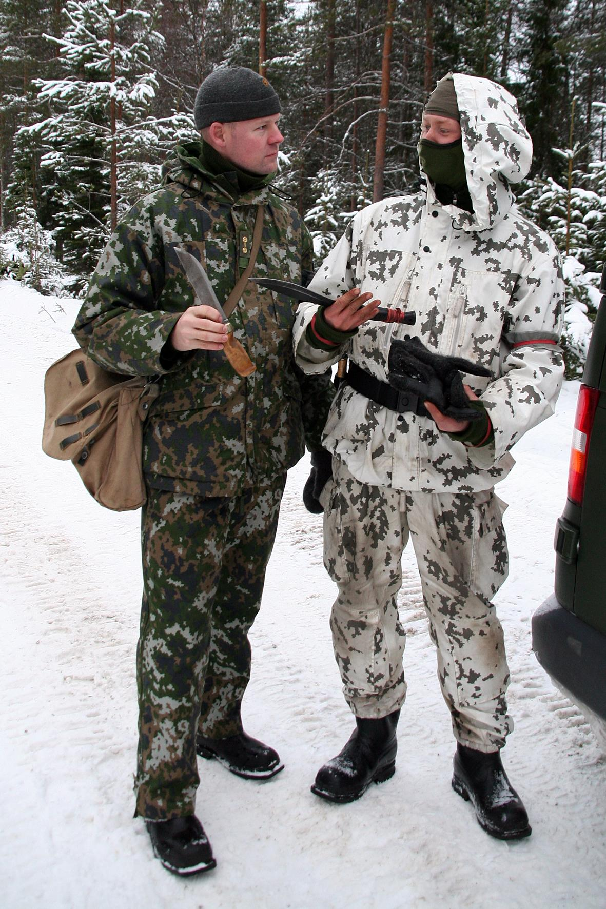 Luxembourg gets its own camo pattern! Finnish-winter-camo