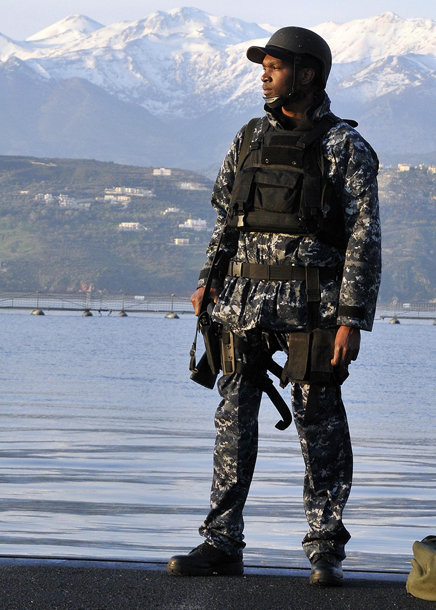 Navy Camo Uniform