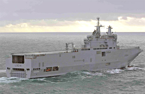 mistral class helicopter carriers. The first Mistral was handed