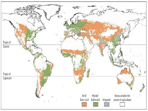 an analysis of the arid areas of the world Semi-arid areas are most extensive highest population densities in the world are found in the semi-arid and dry sub and ecosystem goods and services 1.